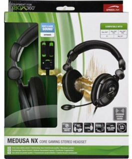 Speedlink Medusa NX Core Gaming Stereo Headset Kopfhörer für Xbox 360 PC - Vorschau 5