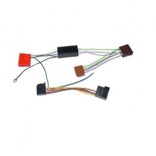 AIV CarHiFi Aktiv System Adapter für VW ISO 8.pol-Mini 4x 100 Watt
