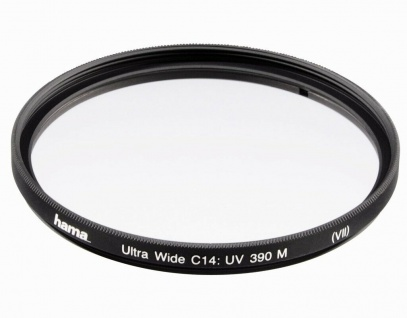 Hama UV-Filter Schutz-Filter 55mm C14-vergütet UV-390 DSLR DSLM Foto Kamera etc.