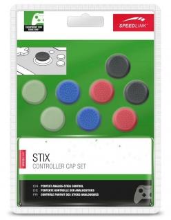 8 Thumb-Stick Aufsatz Pack Taste Kappen Analog-Stick Cap für Xbox One Controller