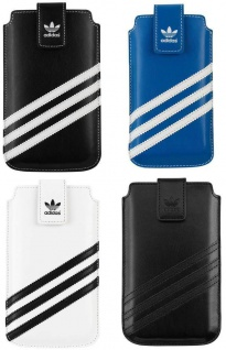 Adidas Sleeve Tasche Etui Hülle Case Cover Bag für Apple iPhone SE 5s 5 5c 4S 4