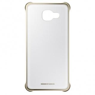 Original Samsung Clear Cover Hard-Case Tasche Schutz-Hülle für Galaxy A5 (2016)