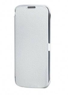 Anymode Folio Case Weiß Schutz-Hülle Tasche Etui Bag für Samsung Galaxy S4 i9500