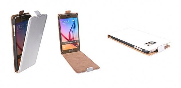 Patona Slim Flip Klapp-Tasche Schutz-Hülle Cover Case für Samsung Galaxy G920 S6