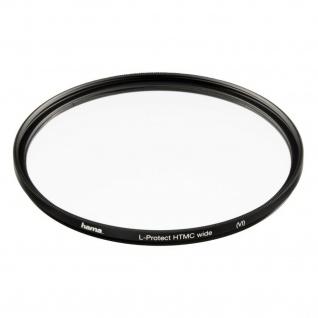 Hama Protect-Filter HTMC 72mm Slim Wide Schutz-Filter Kamera DSLR DSLM Objektiv