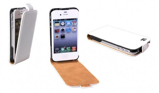 Patona Slim Cover Klapp-Tasche Schutz-Hülle Cover Case für Apple iPhone 4 / 4S
