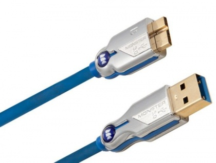 Monster HQ 2, 1m Micro-USB 3.0 USB-Kabel Ultra High-Speed Micro-B-Stecker PC