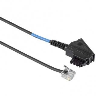 Hama DSL Splitter-Kabel Anschlusskabel 10m TAE-F-Stecker 6p2c Modular RJ11 DEC