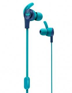 Monster iSport Archieve In-Ear Headset Blue Sport-Kopfhörer Headphones 3, 5mm