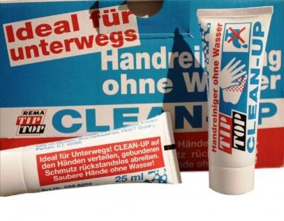2 Tube Tip Top Hand-Reiniger ohne Wasser Unterwegs Fahrrad Motorrad Öl Werkstatt