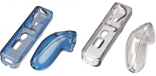 Hama 2x PACK Hard-Case Tasche Hülle Box Cover für Wii Wii-U Wiimote Controller