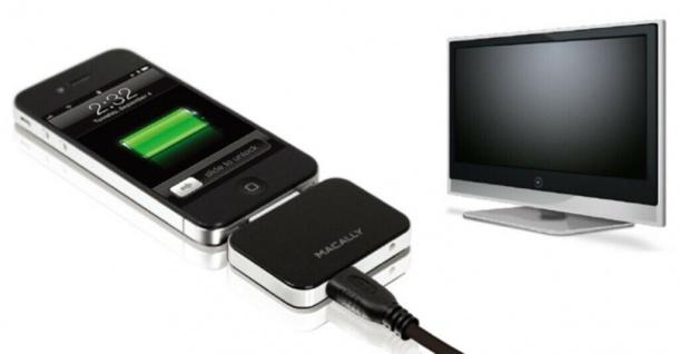 Macally HDMI AV Adapter HDMI-Kabel Dock für Apple iPhone 4S 4 3G iPod Touch Nano