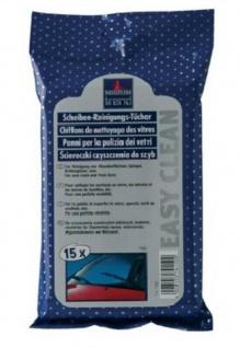 Nigrin Scheiben Reinigungstücher Easy Clean 15 Stück für Fenster Displays Glas