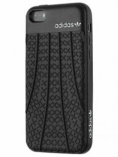 Adidas Skin Cover Hard-Case Tasche Schutz-Hülle Schale Etui für Apple iPhone 5C