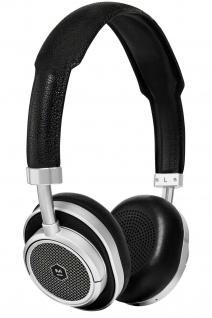 Master & Dynamic MW50+ Silver Wireless Headset Bluetooth BT Kopfhörer Earphones