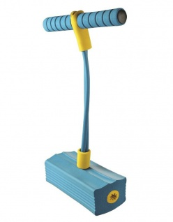 Sportfit Spring-Pogo Blau Pogo-Pin Pogo Stick Hüpf-Stab Hüpfen Kinder Hüpf-Spaß