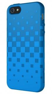 XtremeMac Design Silikon Skin Cover Blau Hülle Case Schale für Apple iPhone 5S 5