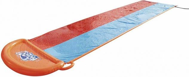 H2OGO! Double Slide 2er Wasserrutsche Wasser-Spiel Rutsche Badespaß Spielzeug