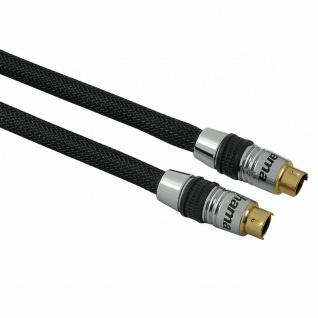 Hama Home Theatre 1, 5m S-Video Kabel Anschlusskabel S-VHS SVHS 4-pol DIN TV PC