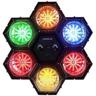 Bigben Party 6 Kanal LED Lichtorgel Licht-Effekt Show Musiksteuerung DJ Disco - Vorschau 1