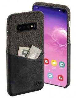 Hama Gentle Hard-Case Cover Schutz-Hülle Karten-Fach für Samsung Galaxy S10
