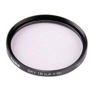 Hama Skylight-Filter 49mm Sky-Filter 1B HTMC-vergütet Digital Foto DSLR Kamera