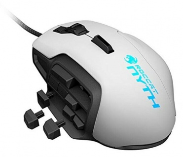 Roccat Nyth Modular MMO USB Gaming Mouse Laser Gamer Maus 12000dpi Daumen-Tasten