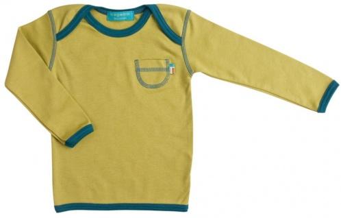 Tragwerk Shirt Nils Jersey Spinat 56-86 Baby Junge Mädchen T-Shirt Langarm Pulli