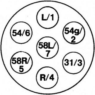 Hella 10x Steckdose 7pol 7 polig 12V 16A Anhängerkupplung Pkw Anhänger Wohnwagen - Vorschau 5