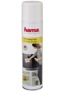 Hama Reinigungsschaum Spray 400ml Reiniger für LCD LED Plasma TV TFT Bildschirm