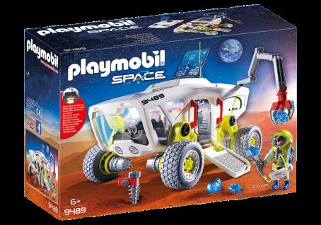 Playmobil 9489 Mars-Erkundungsfahrzeug Licht- und Soundsystem Astronaut Weltraum