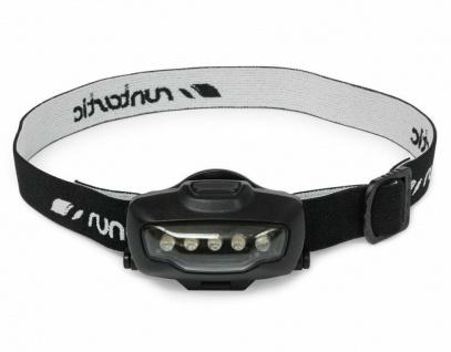 Runtastic LED Stirn-Lampe Kopf-Lampe + Fahrrad-Halterung Jogging Licht Lampe