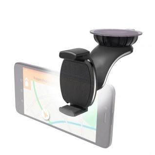 Hama Universal Handy-Halterung Saugnapf Auto-Scheibe Halter Smartphone-Halter
