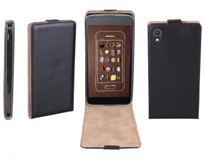 Patona Slim Flip Case Klapp-Tasche Hülle Cover für Alcatel One-Touch Idol 3 5, 5