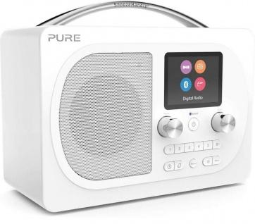 Pure Evoke H4 Prestige Digital-Radio DAB DAB+ UKW FM Bluetooth Display Wecker