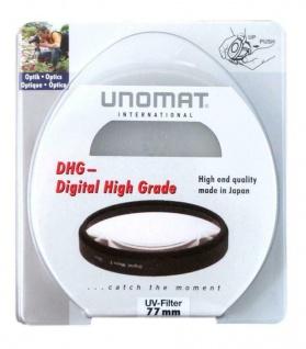 Unomat UV-Filter 77mm UV Filter Speerfilter DHG vergüted für DSLR Objektiv Foto
