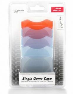 Speedlink 5x Set Single Game Case UMD-Hülle Tasche für Sony PSP UMDs Spiele Etui