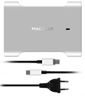 Macally Ladegerät 61W USB-C Netzteil Lade-Kabel für Notebook Chromebook Tablet