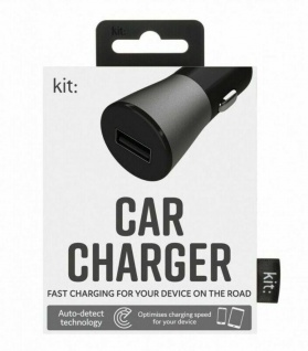 KIT FRESH KFZ Lader 2, 4A USB Ladegerät 12V 24V Lade-Adapter für Handy iPhone etc