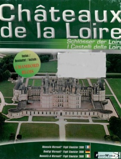 Châteaux de la Loire - Ubisoft Flight Simulator Schlösser Frankreichs