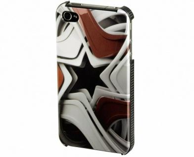 Hama Cover Star für Apple iPhone 4 4S Case Hardcase Tasche Schutz-Hülle Bumper