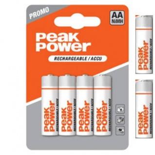 GP Batteries Peak Power Pack 6x AA-Akku 1, 2V Mignon HR6 Batterie AA Akkus PROMO