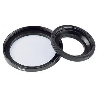 Hama Filter-Adapter Objektiv 25mm Filter 37mm Adapter-Ring Step up Ring für Sony
