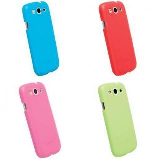 4er PACK Krusell BIO Cover Tasche für Samsung Galaxy S3 S III 3 Hülle Hard-Case