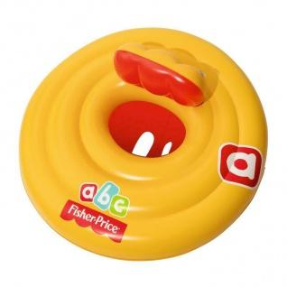 Bestway 93518 Fisher-Price Schwimmreifen aufblasbarer Kleinkind Baby Badesitz