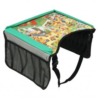 Unitec Kinder Spiel-Tisch Reise-Unterlage Ess-Tisch Reise-Tisch Auto Kindersitz