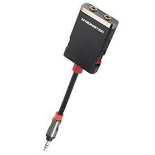 Monster Splitter Klinken-Kabel Klinken-Adapter 3, 5mm Stecker > 2x Buchse Y-Kabel - Vorschau 4
