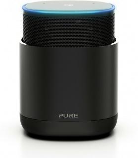 Pure DiscovR Smarter Lautsprecher mit Amazon Alexa + Internet-Radio Bluetooth