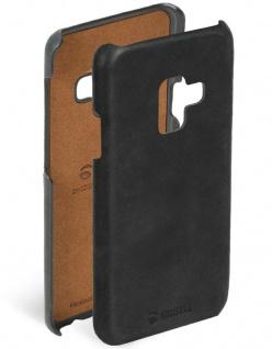 Krusell Cover Leder Case Schutz-Hülle Tasche für Samsung Galaxy A6+ 2018 A6 Plus