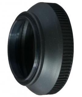 Gummi Gegenlichtblende 62mm faltbar Sonnen-Blende für DSLR DSLM Kamera Objektiv